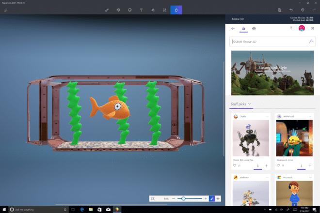 Windows 10 Creators Update - 3D Paint creators update Windows 10 Creators Update ab heute verfügbar Windows 10 Creators Updtate Paint3D 660x440