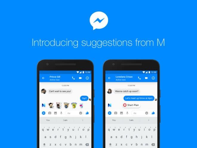 Facebook M - Assistent mit künstlicher Intelligenz facebook m Facebook Messenger: neuer Assistent Facebook M in Amerika verfügbar newsroombanner m 660x495