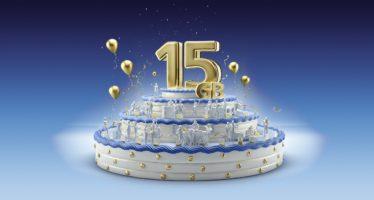 15 Jahre O2: Telefónica spendiert Kunden 15 GB Datenvolumen im Monat