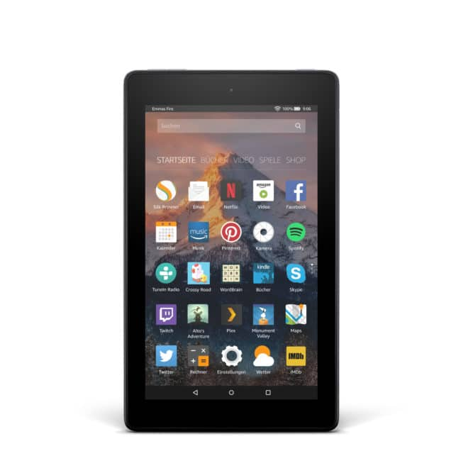Amazon Fire HD8 Amazon Fire Amazon Fire Tablet Serie überarbeitet 2017 Austin Blk P 00F DE 660x660