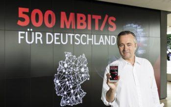 Vodafone schaltet 500 Mbit/s im Mobilfunk frei