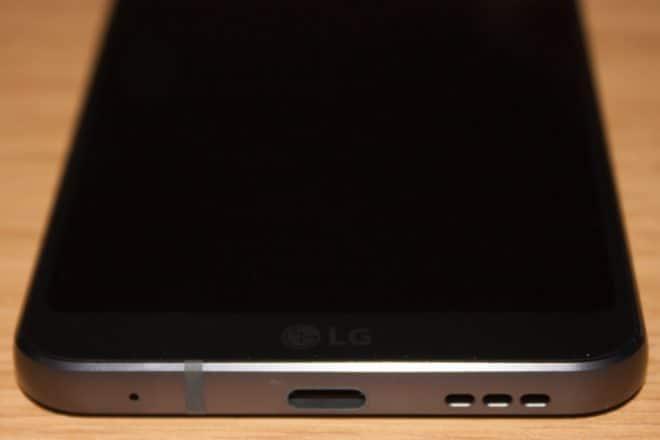 LG G6 lg g6 LG G6 im Test – das ultimative Flaggschiff ohne Knall-Effekt LG G6 3 Unterseite USB C 660x440