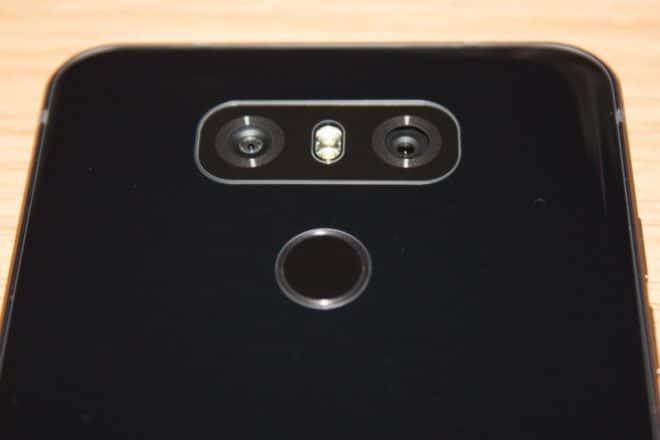 LG G6 lg g6 LG G6 im Test – das ultimative Flaggschiff ohne Knall-Effekt LG G6 7 rechts Kamera R  ckseite Fingerabdrucksensor 660x440