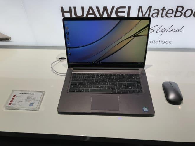 Huawei MateBook D huawei Kurz ausprobiert: Die neuen MateBooks im Hands-On MateBookD auf 660x495