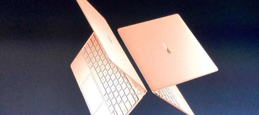 X, E, D: Huawei stellt neue MateBooks vor