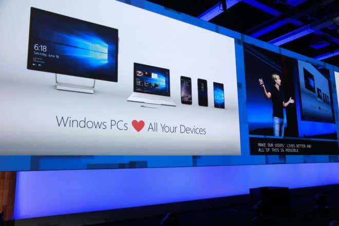 Windows 10 Fall Creators Update Präsentation Windows 10 Windows 10 Fall Creators Update mit neuem Design angekündigt Microsoft Build 2017 Joe Belfiore
