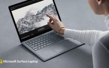 Microsoft Surface Laptop mit neuem Betriebssystem Windows 10S vorgestellt