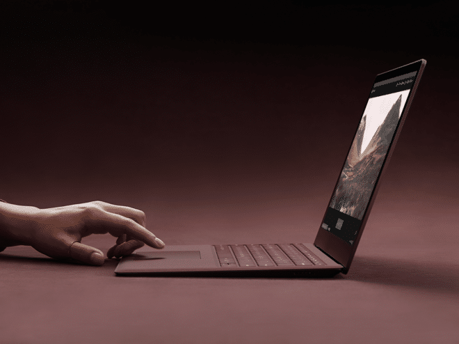 Microsoft Surface Laptop Microsoft Microsoft Surface Laptop mit neuem Betriebssystem Windows 10S vorgestellt Microsoft Surface Laptop rot 660x494