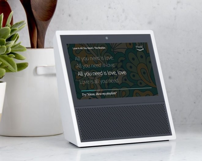 Amazon Echo Show echo show Amazon Echo Show: Lautsprecher mit Display und Kamera vorgestellt amazon echo show music 660x528