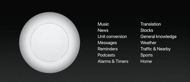 Apple HomePod Apple HomePod Apple WWDC 2017: HomePod vorgestellt – der Lautsprecher als Heimassistent Apple HomePod 660x284