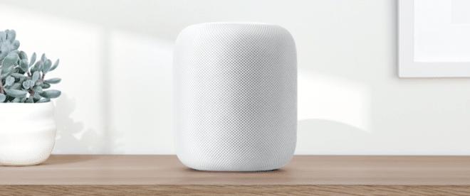 Apple HomePod Apple HomePod Apple WWDC 2017: HomePod vorgestellt – der Lautsprecher als Heimassistent Apple HomePod  660x276