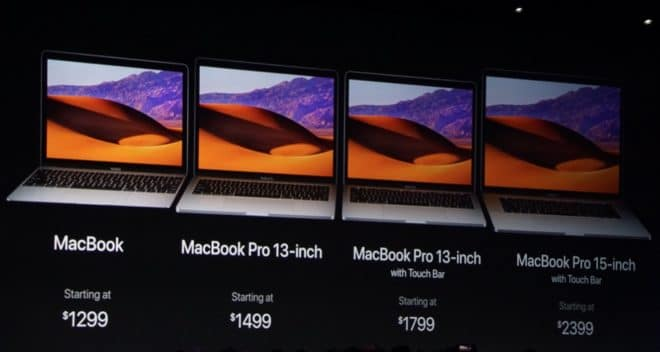 Apple MacBook Pro mac Apple WWDC 2017: Rundumschlag beim Mac-Lineup Apple MacBook Serie 660x352