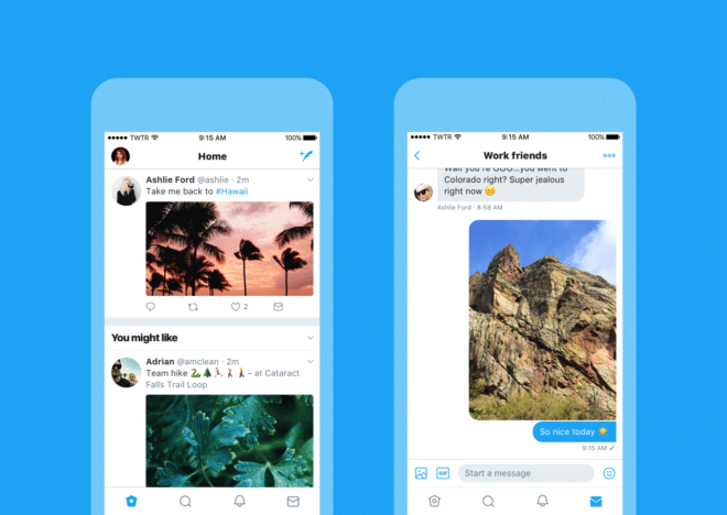 Twitter bekommt neues Design twitter Twitter bekommt neues Design – Apps gehen voran Check new look iOS Timeline and DM