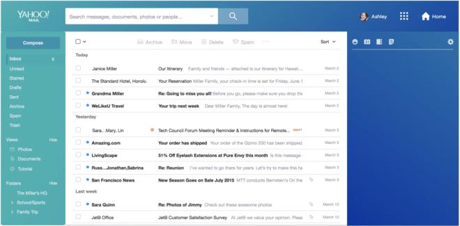 Yahoo Mail Redesign yahoo Nach Übernahme: Yahoo Mail bekommt Redesign und eine kostenpflichtige Variante Yahoo Mail Redesign 660x325