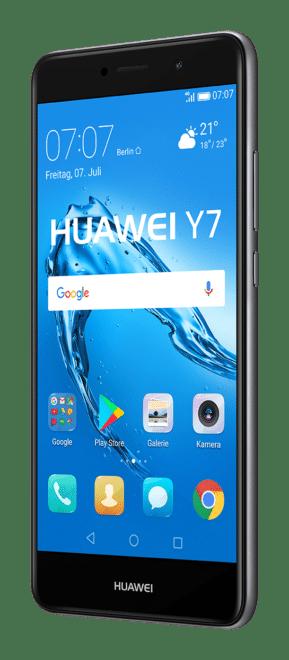 Huawei Y7 huawei y Y7 und Y6: Huawei stellt neue Einsteiger-Smartphones vor Y7 Grey Front 45 Left GER 289x660