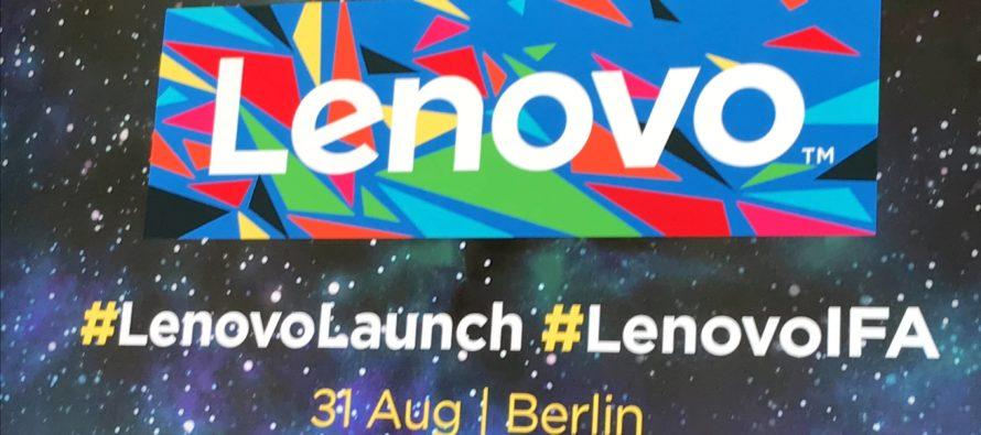 IFA 2017: Rundumschlag von Lenovo – Moto X4 bis Tab 4