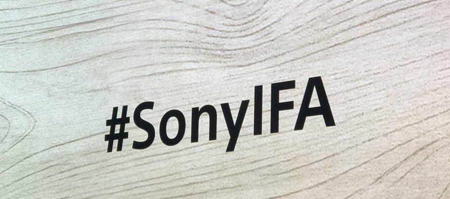 IFA 2017: Sonys neue Flaggschiffe im Video