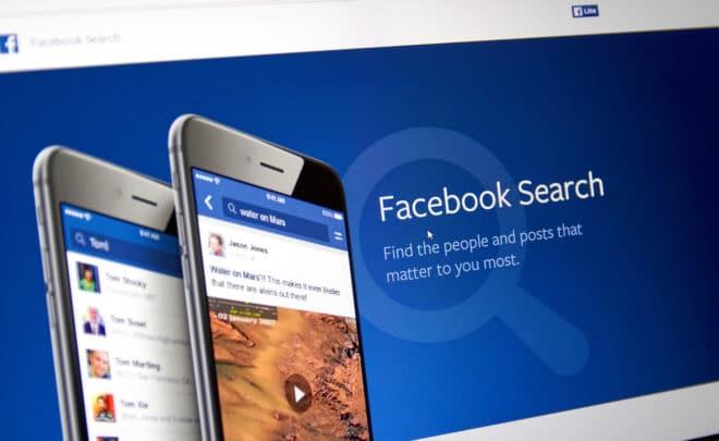 Facebook Suche Symbolbild facebook Facebook löscht tausende Accounts wegen Fake News Facebook Suche 660x405