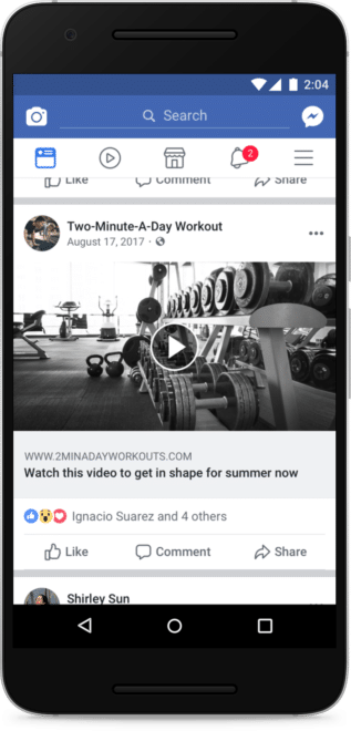 Facebook Video Clickbait facebook Facebook will Video-Clickbaiting stoppen Facebook Video Clickbait 317x660