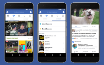 Facebook-Videoplattform Watch soll proffessionelle Video-Inhalte bieten