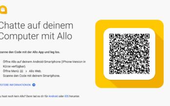 Messengergespräche: Google Allo for Web jetzt verfügbar