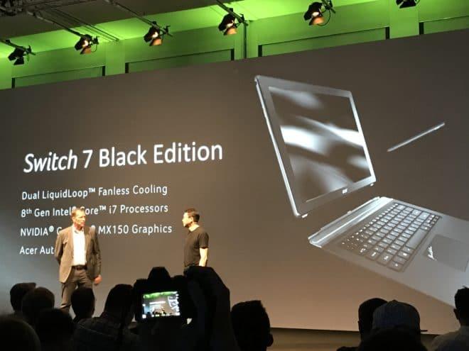 Switch 7 Black Edition acer IFA 2017: Erste Intel Gen. 8 Highlights von Acer IMG 2891 660x495