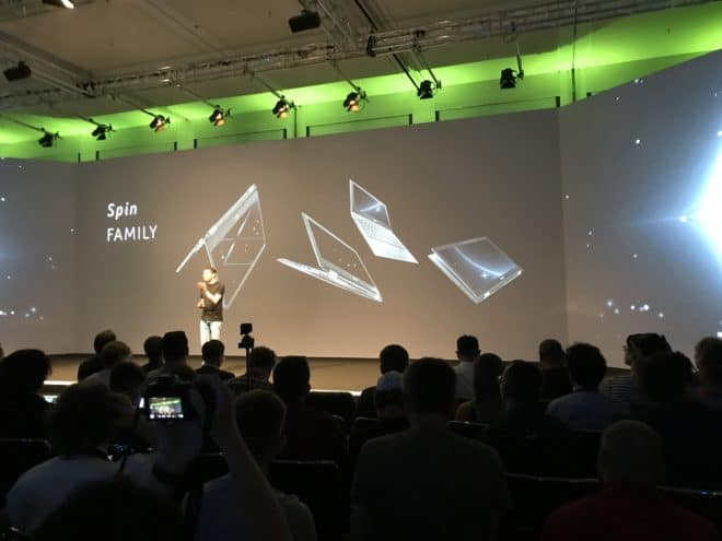 Acer Spin Family acer IFA 2017: Erste Intel Gen. 8 Highlights von Acer IMG 2897 660x495