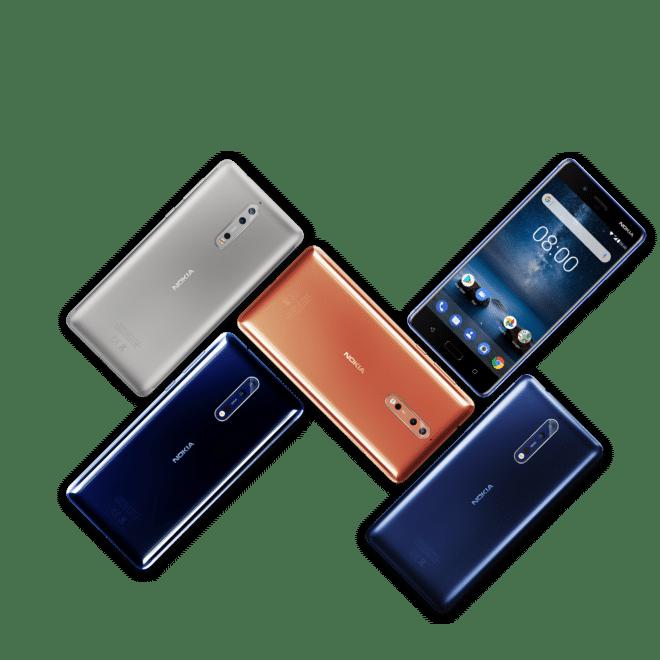 Nokia 8 nokia Nokia 8 mit Zeiss-Linse und Bothie-Modus vorgestellt Nokia 8 Family 1 660x660