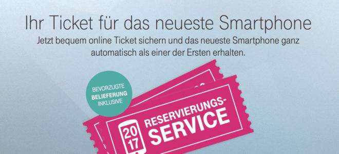 Telekom Reservierungsservice 2017 telekom Provider starten Premierentickets und nehmen Reservierungen für neue Smartphones entgegen [2. UPDATE] Telekom Reservierungsservice 2017 e1502691638108 660x301