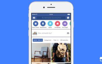 Facebook Marktplatz kommt nach Deutschland – der neue eBay Konkurrent