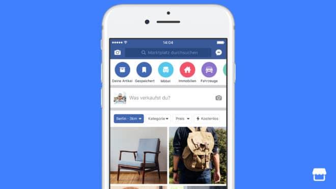 Facebook Marktplatz facebook Facebook Marktplatz kommt nach Deutschland – der neue eBay Konkurrent facebook marktplatz 660x371