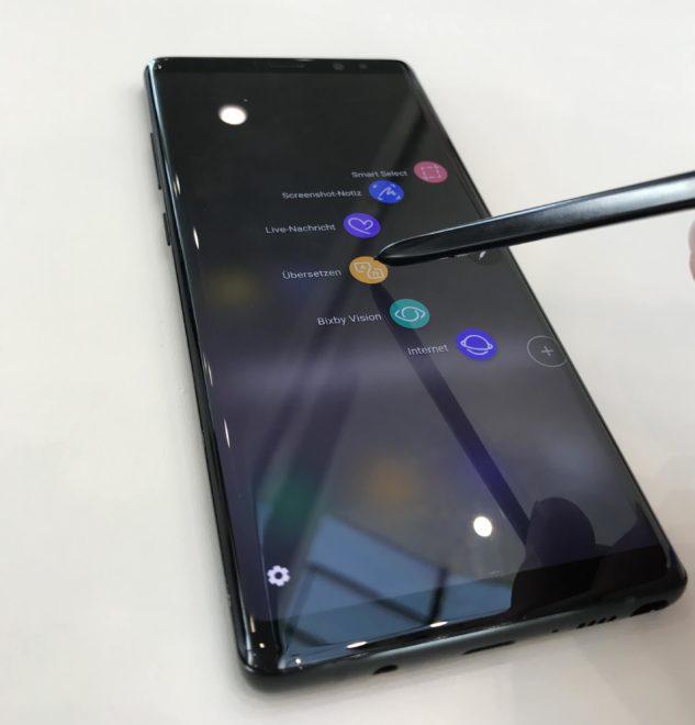 samsung HandsOn: Samsung Galaxy Note 8 – Das Flaggschiff ist zurück IMG 3676 e1504435788152 633x660