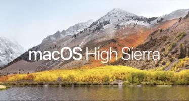 Software-Update: Apple veröffentlicht macOS High Sierra