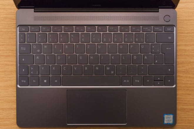 Huawei MateBook X huawei matebook Test: Huawei MateBook X – Kann Huawei auch Notebooks? 11 Tastatur vollst  ndig 660x440