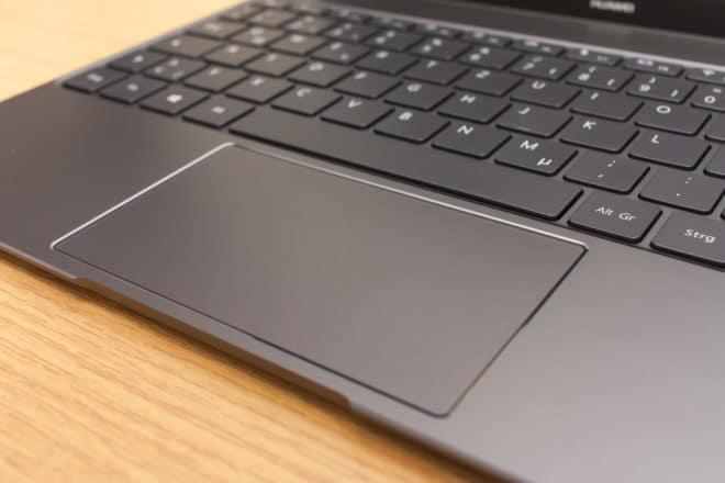 Huawei MateBook X huawei matebook Test: Huawei MateBook X – Kann Huawei auch Notebooks? 14 Trackpad 660x440