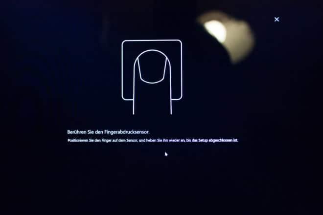 Huawei MateBook X huawei matebook Test: Huawei MateBook X – Kann Huawei auch Notebooks? 20 Windows 10 Einrichtung Fingerabdrucksensor Erkl  rung 660x440
