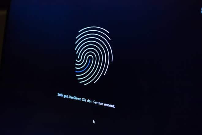 Huawei MateBook X huawei matebook Test: Huawei MateBook X – Kann Huawei auch Notebooks? 21 Windows 10 Einrichtung Fingerabdrucksensor Einrichtung 660x440