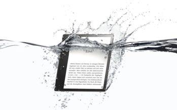 Neues Amazon Kindle Oasis bekommt zahlreiche Features und ist wasserfest