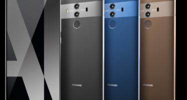 Phablet-Zeit: Huawei stellt Mate10 Pro und Mate10 lite vor