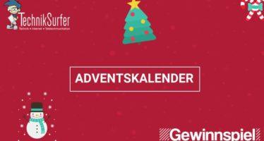 Weihnachten steht vor der Tür: Der TechnikSurfer Adventskalender öffnet seine Türchen