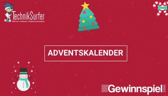TechnikSurfer Adventskalender 2017 adventskalender Weihnachten steht vor der Tür: Der TechnikSurfer Adventskalender öffnet seine Türchen TechnikSurfer Adventskalender2017 660x379