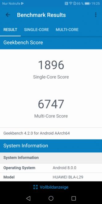 huawei mate 10 pro Huawei Mate 10  Pro im Test: Was kann das Flaggschiff mit der Leica-Linse? 35 Screenshot Benchmark CPU Ergebnis 1896 und 6747 1 330x660