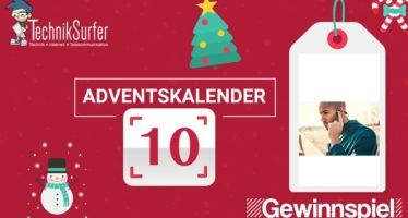 Adventskalender Tag 10: Kabellose Kopfhörer mit Knochenschall