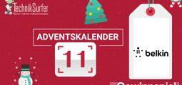 Adventskalender 11: Rundumschutz für all seine Smartgeräte dank Belkin