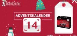 Adventskalender Tag 14: Schnell, schneller, W-LAN von Netgear
