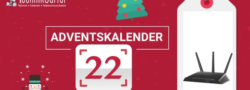 Adventskalender Tag 22: Smartrouter von Netgear