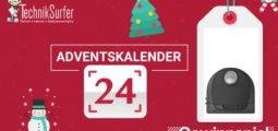 Adventskalender Tag 24: Smarter Weihnachtshelfer von Neato