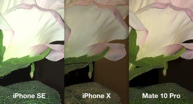 iPhone SE, iPhone X und Mate 10 Pro im Kamra-Blitztest huawei mate 10 pro Huawei Mate 10  Pro im Test: Was kann das Flaggschiff mit der Leica-Linse? Blitz iPhone SE iPhone X Mate 10 Pro 660x356