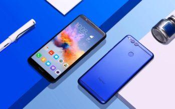 Honor 7X vorgestellt: einsteigersmartphone mit Dualkamera und Display mit wenig Rand