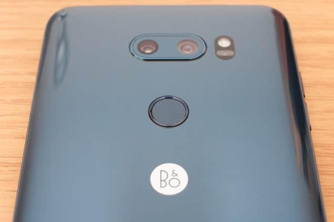 LG V30 Rückseite lg v30 LG V30 im Test: Zwischen Licht und Schatten 11 R  ckseite Fingerabdrucksensor 660x440